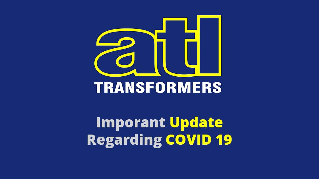 Coronavirus: Important Update from ATL Transformers