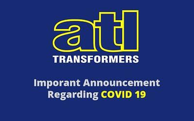 Coronavirus: Important Announcement from ATL Transformers